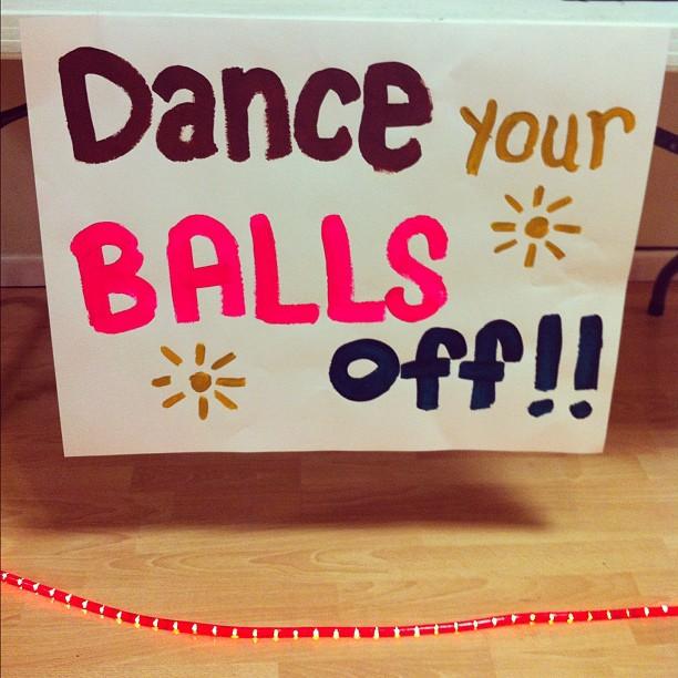 Dance your balls