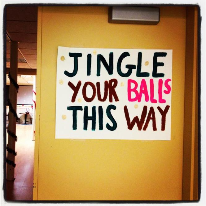 Jingle your balls