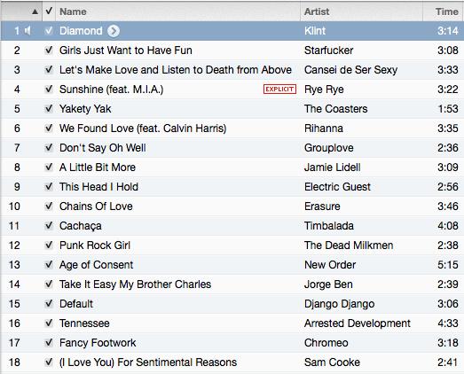 DDPP playlist 04.10.13