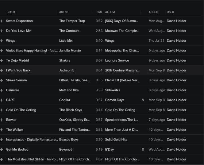 ddpp  playlist 9-12