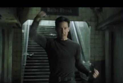 Matrix Safety Dance