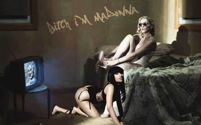 Bitch+I'm+Madonna+-+wallpaper+by+Aldo+Diaz
