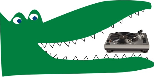 crocodile-turntable